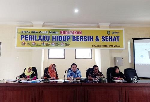 Dinkes Medan Buka Forum OPD, Bahas Progja Tahun Mendatang