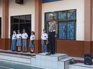Kasat Lantas Polrestabes Medan Irup di SMA WR Supratman I Medan, Pesankan Pelajar Tertib Lalulintas