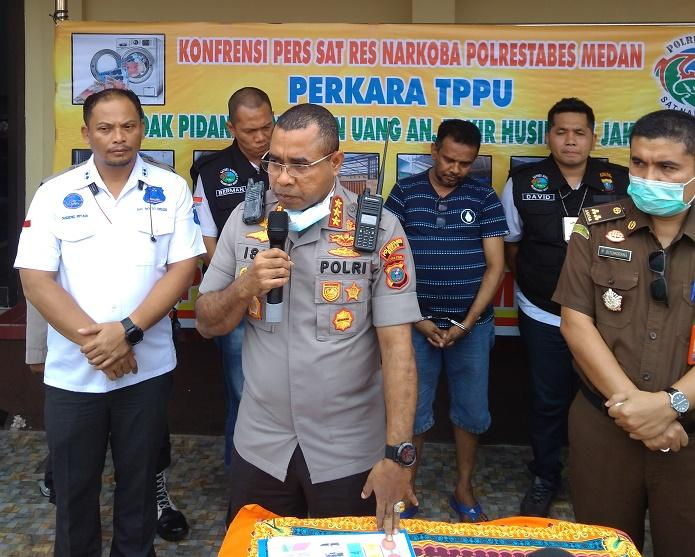 Polrestabes Medan Sita Aset Bandar Narkoba Zakir Husin Senilai Rp 8 Miliar