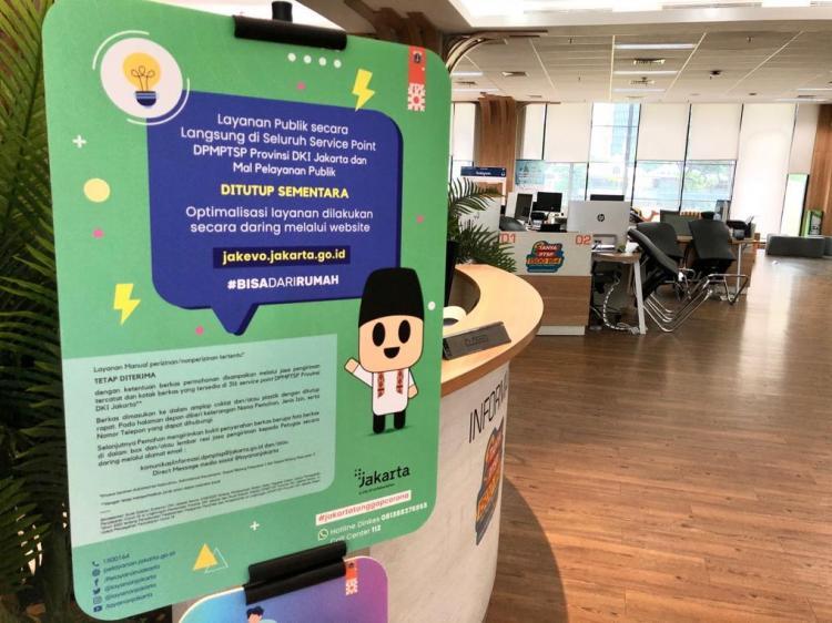 DPMPTSP Provinsi DKI Jakarta Tetap Memberikan Pelayanan Publik yang Prima, Urus Perizinan Bisa Dari Rumah