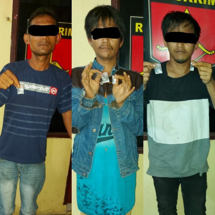 Tiga Tersangka Pemilik Sabu Ditangkap Tekab Jajaran Polresta Deli Serdang