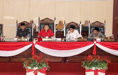 DPRD Sampaikan Pokok-pokok Pikiran DPRD Tahun 2020 kepada Pemko Medan