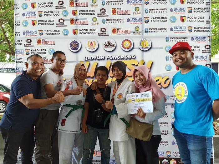 Personel Bakamla RI Kembali Raih Juara di Kompetisi Ju-Jitsu antar Dojo seluruh Indonesia