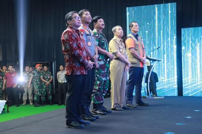 Panglima TNI Launching Aplikasi Lancang Kuning Nusantara di Riau