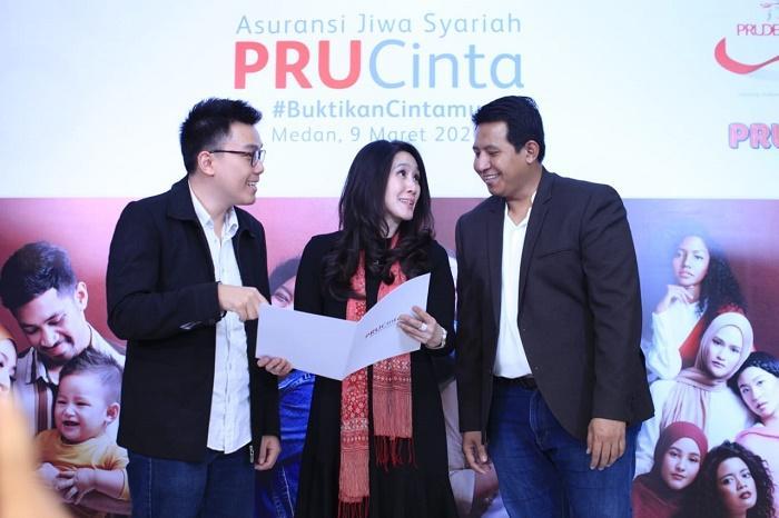 Prudential Indonesia Launching PRUCinta di Medan, Ajak Keluarga Kelola Kesejahteraan Berbasis Syariah