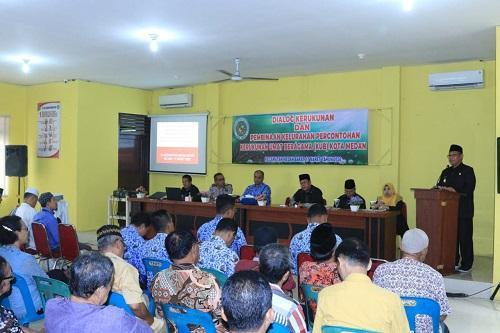 Akhyar Nasution Gandeng FKUB Kota Medan Edukasi Masyarakat Terkait Virus Corona