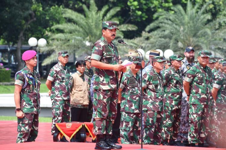 Panglima TNI: Pemerintah Australia Menyampaikan Terimakasih Atas Keterlibatan Satgas Garuda Penanggulangan Karhutla