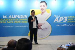 Kontestasi Musda BPD HIPMI Jaya, Cawagub DKI Jakarta Riza Patria Jagokan Bung Ape