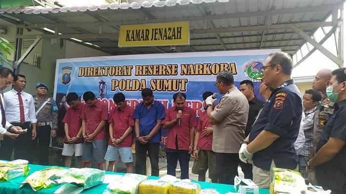 Polda Sumut Tembak Mati Satu dari Tujuh Jaringan Narkotika Internasional di Medan