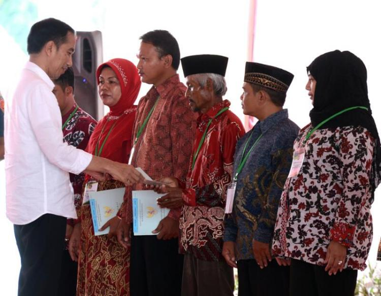 Presiden Jokowi: BPN Agar Cepat Layani Rakyat
