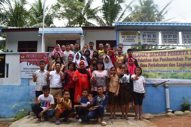 PKPA Kembangkan Desa Layak Anak di Lingkar Kebun