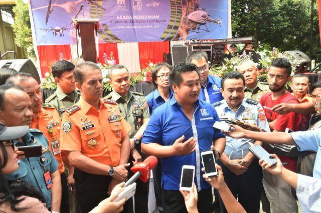PT FIT Resmikan Pabrik Drone Pertama di Asia Tenggara