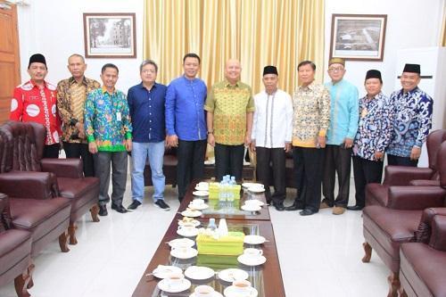 Walikota Terima Audiensi PW Muhammadiyah Sumut