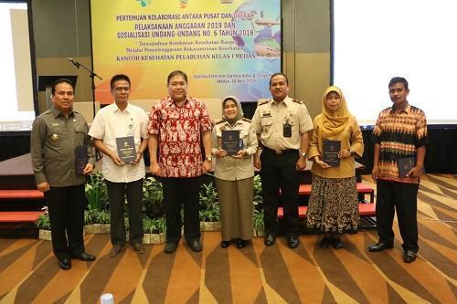 Walikota Medan Hadiri Pertemuan Kolaborasi Antara Pusat dan Daerah Terkait Pelaksanaan Anggaran 2019 dan Sosialisasi UU Nomor 6 Tahun 2018 tentang Kekarantinaan Kesehatan