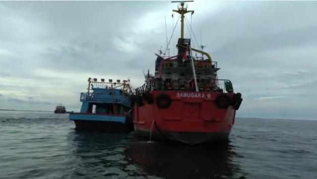 MT Samugara 9 Tertangkap Bawa BBM Illegal, Bakamla RI Serahkan Kapal Tangker ke Polair