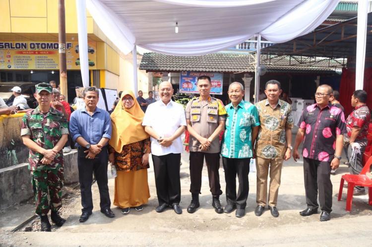 Kapolrestabes Bersama Walikota Medan Pantau Pemungutan Suara Ulang