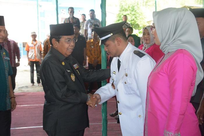 Wabup Deli Serdang Lantik Kepala Desa Sena