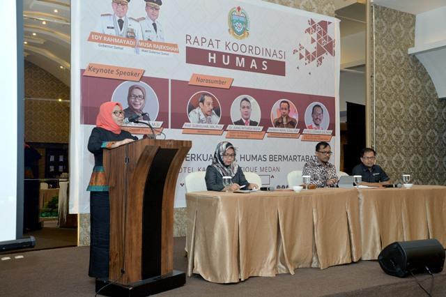 Sekdaprov Sumut: Humas Harus Berperan Ciptakan Iklim Kondusif Jelang Pemilu 2019