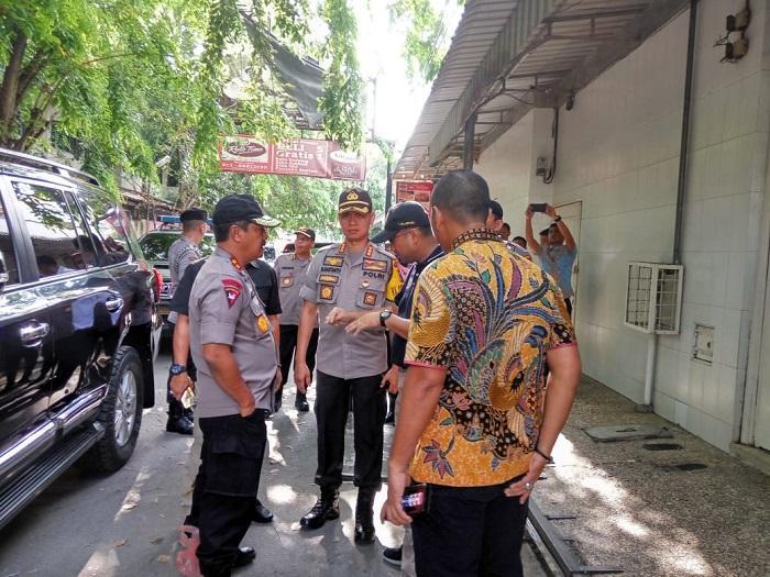 Kapoldasu Tinjau Lokasi Ledakan Ruko di Jalan Kruing