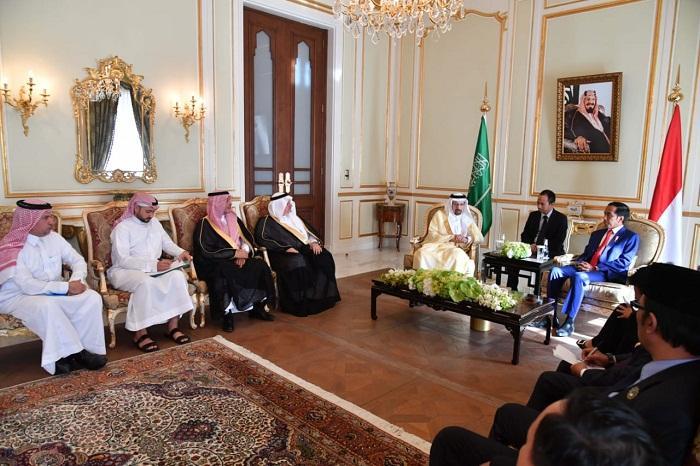 Presiden Jokowi dan Menteri Energi Arab Saudi Bahas Kerja Sama di Bidang Energi