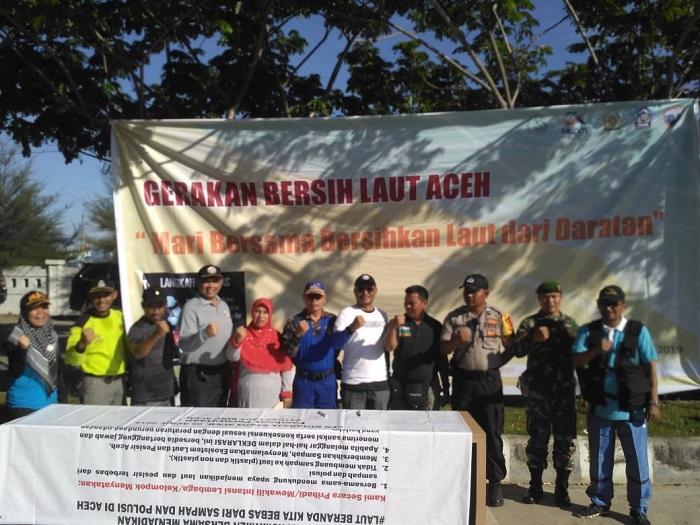 Bakamla RI - SPKKL Aceh Deklarasi Laut Bersih