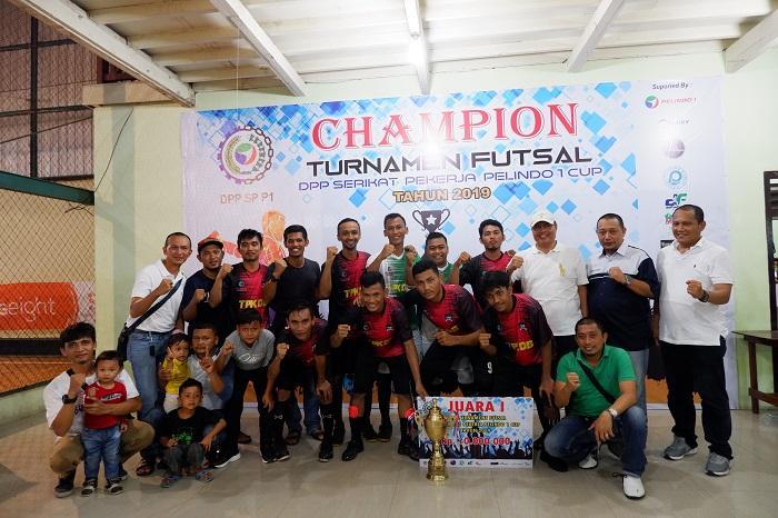 Sebanyak 36 Tim Ikuti Turnamen Futsal HUT ke-19 SP Pelindo 1