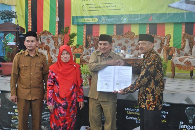 Guru PAI se-Aceh Barat Dibekali Teknis Pengelolaan Perpustakaan