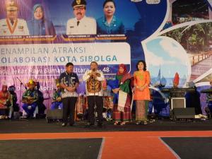 Penampilan Atraksi Kolaborasi Kota Sibolga pada PRSU ke-48 Pukau Ribuan Pengunjung