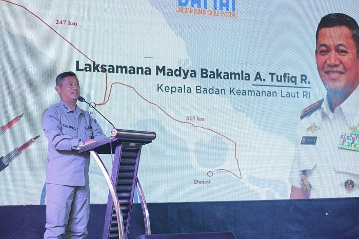 Kepala Bakamla Hadiri Peluncuran SKKL DAMAI di Batam