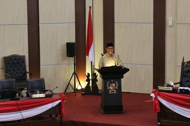Plt Wali Kota Medan Sampaikan LKPJ Pelaksanaan APBD TA 2019