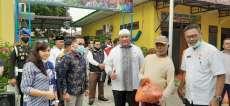 Antisipasi Dampak Corona, Pelindo 1 Bagikan Bantuan Sembako di Belawan