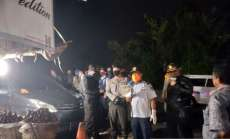 Polres Tapsel Patroli Antisipasi COVID-19, Kerumunan Massa Dibubarkan