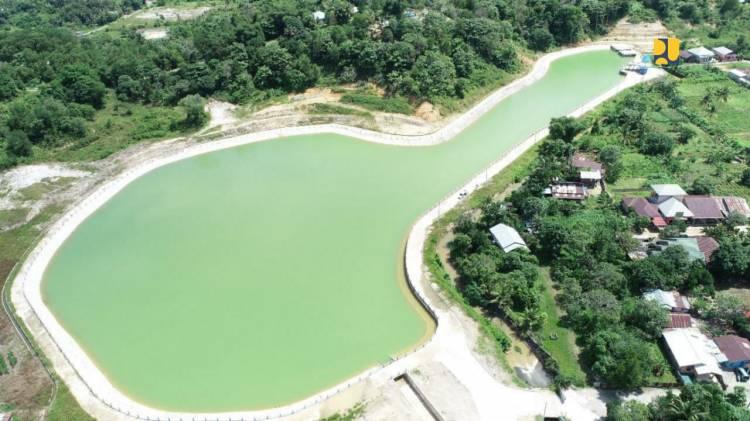 Pemerintah Selesaikan Bangun Embung Rawa Sari di Tarakan, Kapasitas 112.000 Meter Kubik