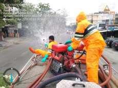 Pemko Medan Masih Gencar Keliling Kota untuk Semprot Disinfektan