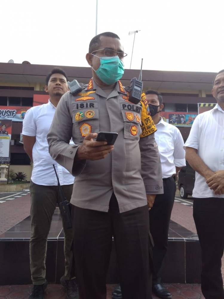 AKBP Sonny W Siregar Terima Promosi Kasat Lantas Polrestabes Medan