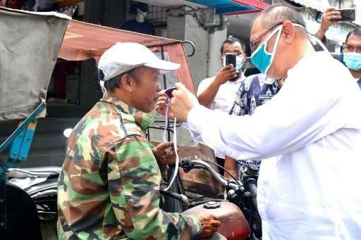 Plt Wali Kota Medan Tegaskan Warga Wajib Pakai Masker Saat Berada di Luar Rumah