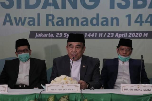 Hasil Sidang Isbat, Pemerintah Tetapkan Awal Ramadan 1441H Besok, Jumat 24 April 2020