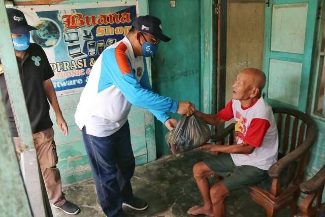 Akhyar Nasution Apresiasi Bantuan Sembako dari Gerakan Muslim Millenial kepada Masyarakat Kota Medan