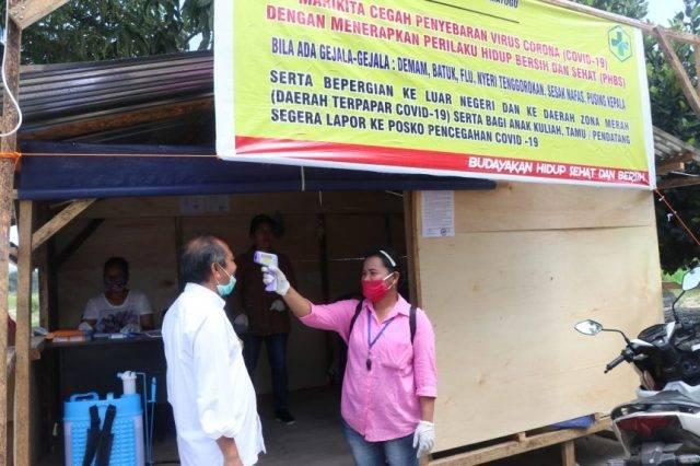 Wabup Toba Imbau Kepala Desa dan Perangkat Desa di Kecamatan Uluan Serius Data Orang yang Keluar Masuk
