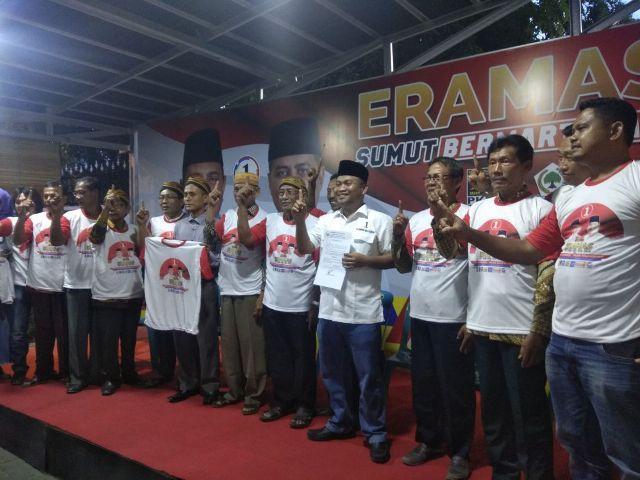 Organisasi Masyarakat Jawa Pendukung Djoss Curhat ke Eramas