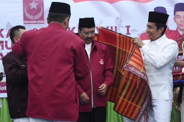 Hadiri Pelantikan Pemuda Muslimin Indonesia Sumut, Gubsu Ingatkan Pemuda Tetap Jaga Persatuan