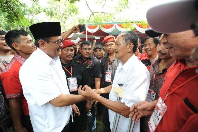 Rakercabsus, Kader PDIP Deli Serdang Diminta Menangkan Ashari-Yusuf