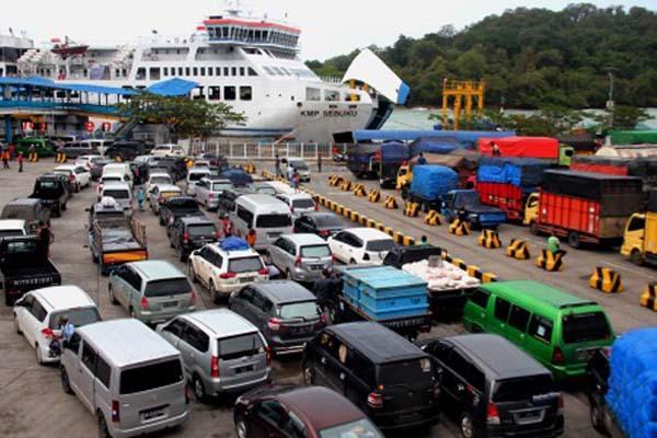 Mudik Lebaran, Penyeberangan dari Jawa ke Sumatera Berlakukan Sistem Ganjil Genap