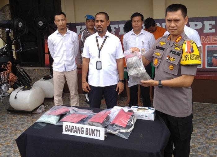 Polisi Sergap 3 Pelaku Geng Motor di Medan