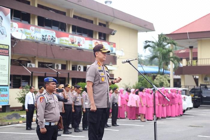 Kapolrestabes Medan Pimpin Sertijab Perwira Hari Ini
