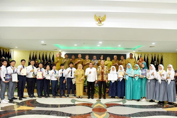 Gubernur Sumut Apresiasi Kreatifitas Siswa YPSA, Harapkan Bisa Jadi Industri Unggulan
