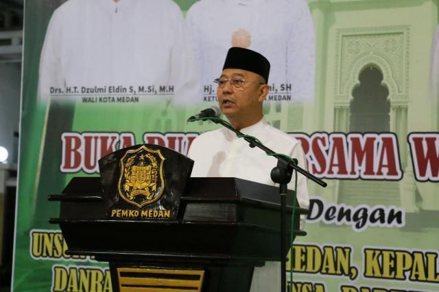 Walikota Buka Puasa Bersama Forkompinda Kota Medan
