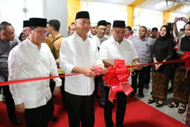 Walikota Medan Resmikan Kantor Baru BPN Kota Medan di Amplas
