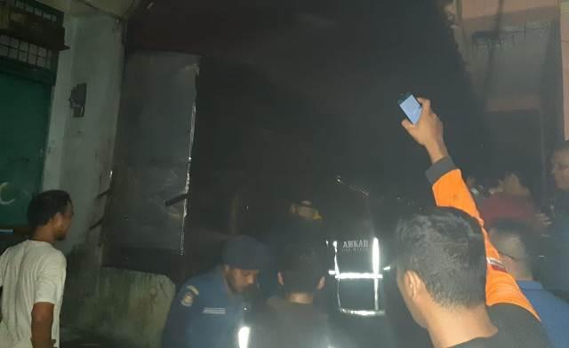 Tiga Unit Rumah di Jalan Bahagia, Medan Baru Ludes Terbakar