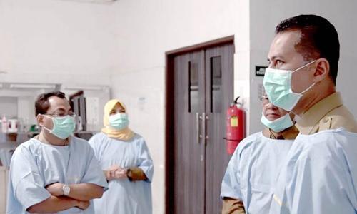Tinjau UPT RS Pemprov Sumut, Wagub Berharap Pelayanan Pasien Ditingkatkan